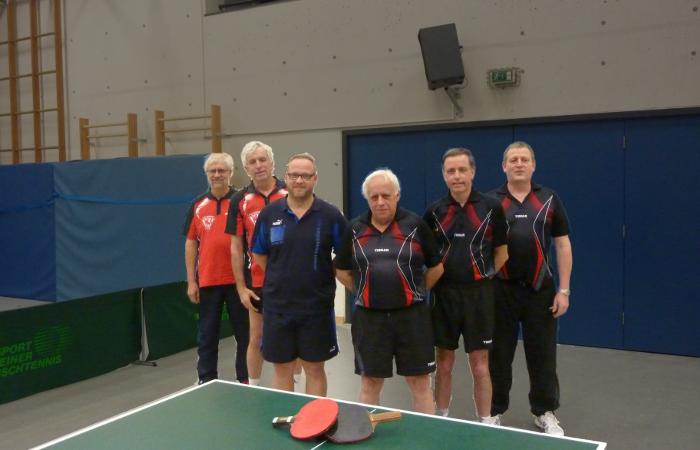 v.l.n.r: Wetter, Helmut; Westphal, Günter; Breitenbach, Marc; Schmitt, Martin; Böhning, Hubert; Hintzmann, Martin.