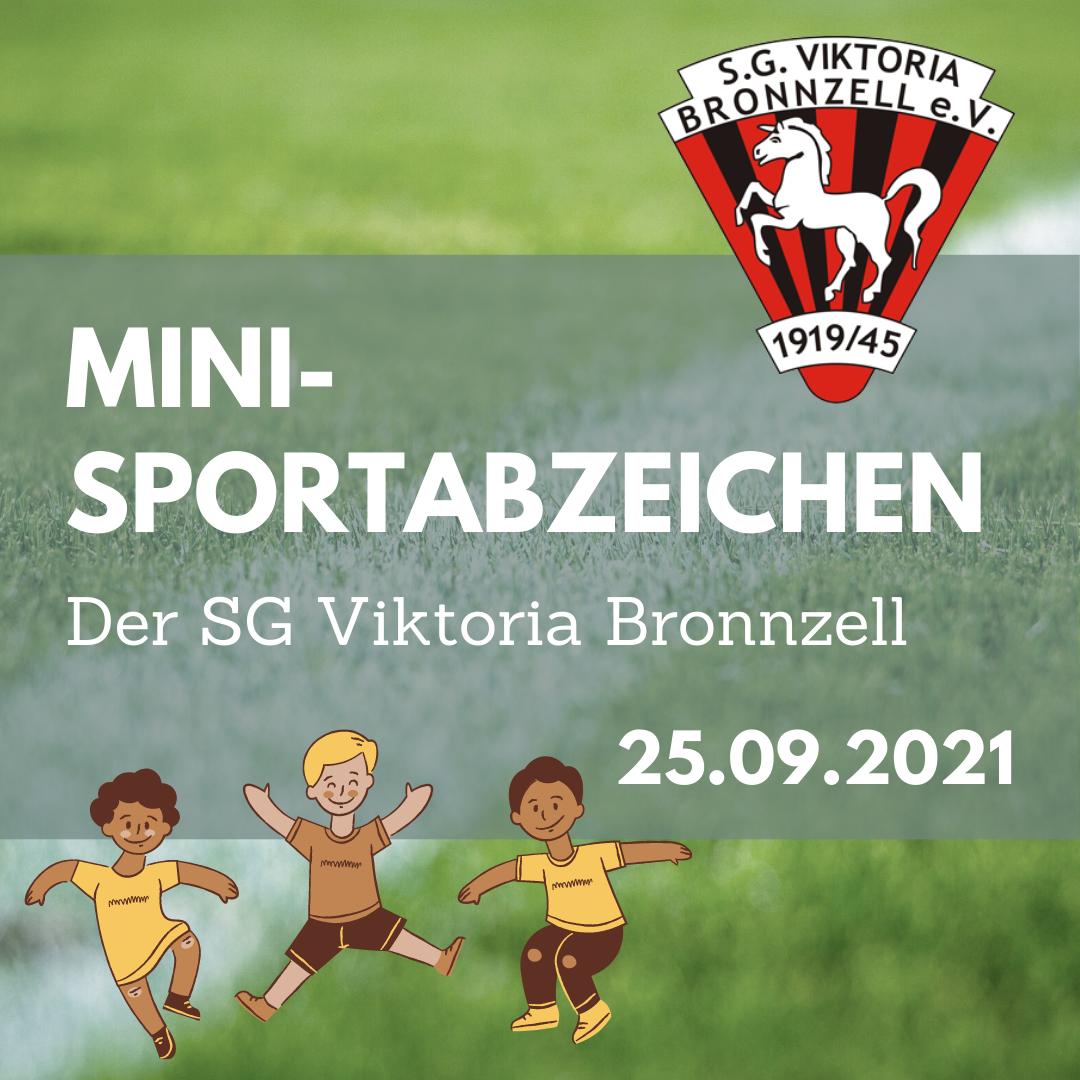 Mini-Sportabzeichen der SG Viktoria Bronnzell